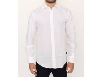 Cavalli - White striped cotton shirt