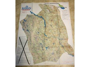 Karta Over Alvdalens Fiskeomrade I Norr 299919143 ᐈ Peha2217