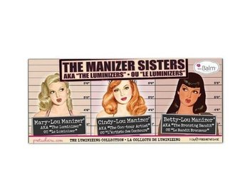 The balm the manizer sister Mary-Lou manizer Betty-Lou Cindy-Lou highlighter