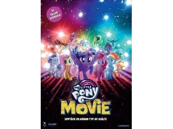 My little Pony: The Movie [DVD] Ny / inplastad / svenskt tal / filmen