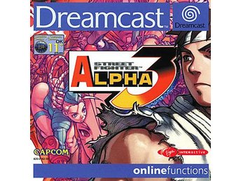 Street Fighter Alpha 3 - Dreamcast