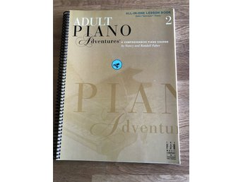 Piano Adult Piano Adventures Bok 2