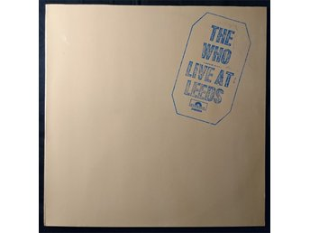 "THE WHO  ""Live at Leeds""  1970  Early issue without merchandise  Germany"