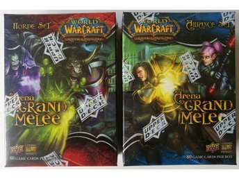 World of Warcraft TCG Arena Grand Melee Horde Set + Alliance Set
