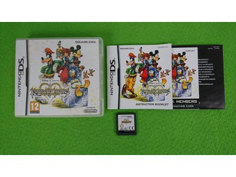 Kingdom Hearts Re:Coded KOMPLETT Nintendo DS