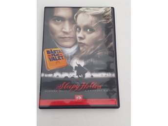 Sleepy hollow (DVD, skräck, action, thriller)