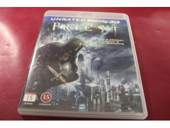 Bluray3D-film: Priest