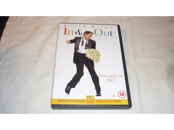 In & Out - Kevin Kline, - Joan Cusack - Tom Selleck - 1997 - Engelsk text