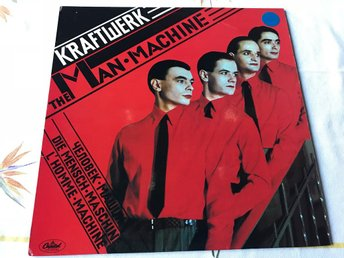 KRAFTWERK - THE MAN MACHINE LP 1978