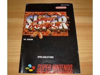 Manual Snes: Super Street Fighter II 2