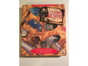 The LucasArts Macintosh Archives Vol. I (1995) Rare Limited Edition CIB