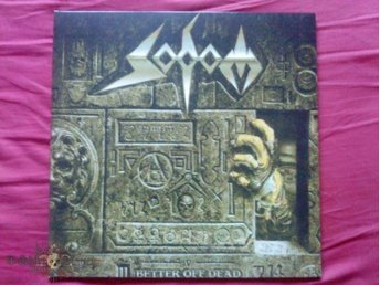 SODOM-Better Off Death-LTD 2 LP Gatefold 2010-3 Bonus Tracks-German Trash Metal - Västerås - SODOM-Better Off Death-LTD 2 LP Gatefold 2010-3 Bonus Tracks-German Trash Metal - Västerås