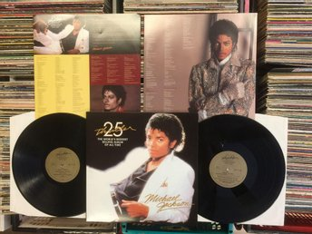 MICHAEL JACKSON  THRILLER  VERY RARE 2-LP  (BONUS TRACKS)  2008 !!!!!!!!!!!!!!!!