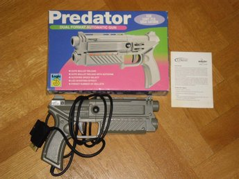 PlayStation PS1/Saturn: Logic 3 Predator Dual Format Lightgun