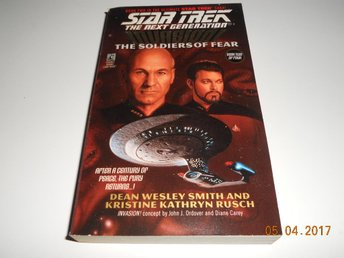 STAR TREK Voyager - Invasion! The soldiers of fear, Pocket Books USA