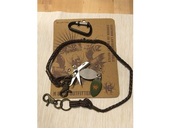 N GAGE OUTFITTERS LEATHER LANYARD & TOOLS