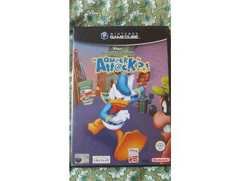 Donald duck quack attack nintendo gamecube