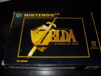 The legend of Zelda Ocarina of Time CIB