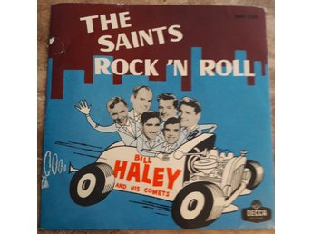 Bill Haley The saints rockn roll skivomslag