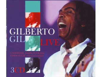 Gilberto Gil - Live (3xCD, Album + Box, Comp)