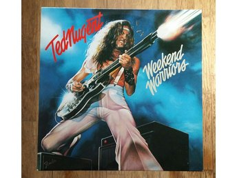 Ted Nugent, Weekend Warriors, 1978, Record = Near Mint, Cover = Excellent