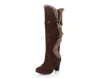 Dam Boots Winter Boots Sexy Leisure Shoes Woman Brown 37