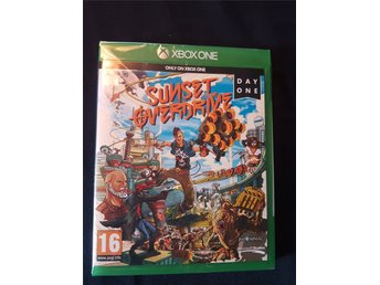 SUNSET OVERDRIVE (DAY ONE EDITION) XBOX ONE, !!NYTT INPLASTAT!!