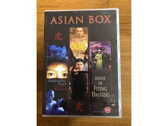 Asian Box -Crouching Tiger Hidden Dragon/Hero/House of Flying Daggers