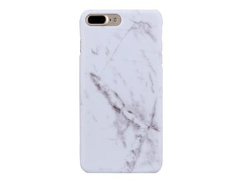 Iphone 7+/8+ Plus 5,5 Marble Skal Skydd Case Vit