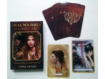 Heal yourself reading cards, tarot, orakel kort, oracle cards