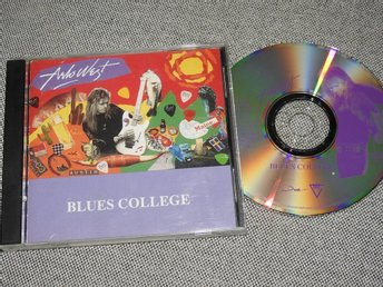 Arlo West - Blues College CD (Mega-Rare!) 1994