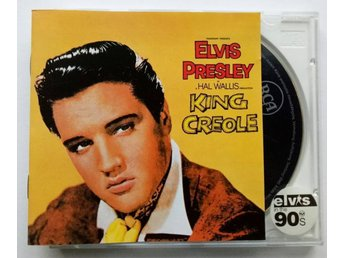 ELVIS PRESLEY-King Creole 1958-CD Germany Press RCA 1990-8 Page Book-Near Mint!