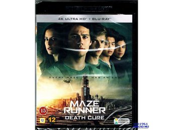 MAZE RUNNER THE DEATH CURE 4K ULTRA HD + BLU-RAY - NY INPLASTAD