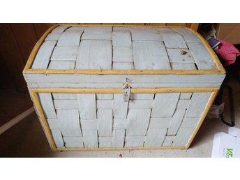 Berömda Shabby chic Smidig Kista förvaring låda Retro V.. (363724891) ᐈ OR-53