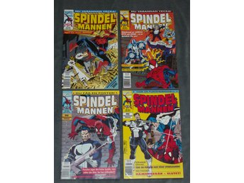 SPINDELMANNEN # 1, 12 & 15-16 - 1994  -MARVEL-