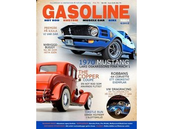 GASOLINE Magazine 2012 No:04 - NY - FRI FRAKT