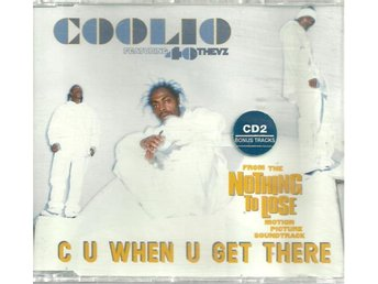 COOLIO - CU WHEN U GET THERE  ( CD SINGLE )