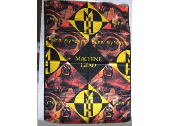 Machine Head -Burn my eyes posterflag from 1994 OOP