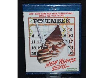New Year's Evil - Cannon Films - Ny & inplastad! Shout Factory