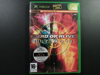 Dead or Alive Ultimate 1 & 2 till Xbox  - EU PAL |