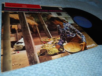 Krontjong Music From Indonesia (LP) Stereo EX/EX