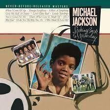 "LP-skiva Michael Jackson ""Looking back to yesterday"""