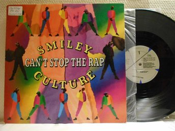 SMILEY CULTURE - CAN'T STOP THE RAP - MAXI - PROMO