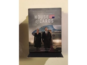 House of cards säsong 3/ 4 disc - Vittaryd - House of cards säsong 3/ 4 disc - Vittaryd