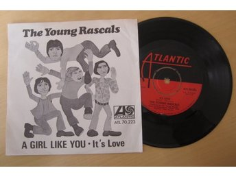 "The Young Rascals singel 1967 ""A Girl Like You/It´s Love""   Vinyl"