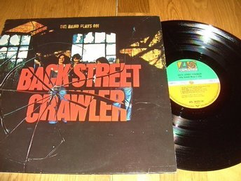 Backstreet Crawler Lp. The band plays on