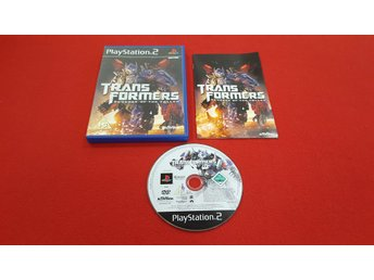 TRANSFORMERS REVENGE OF THE FALLEN till Sony Playstation 2 PS2