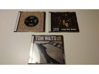 TOM WAITS, 3 ST. PROMOS: BACK IN THE CROWD + LIE TO ME + LONG WAY HOME