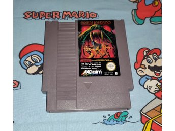 Swords and Serpents till Nintendo 8bit! SCN! Svensksålt! 1kr
