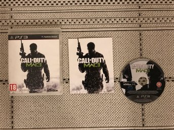 Call Of Duty: Modern Warfare 3, COD, till Playstation 3, PS3, komplett